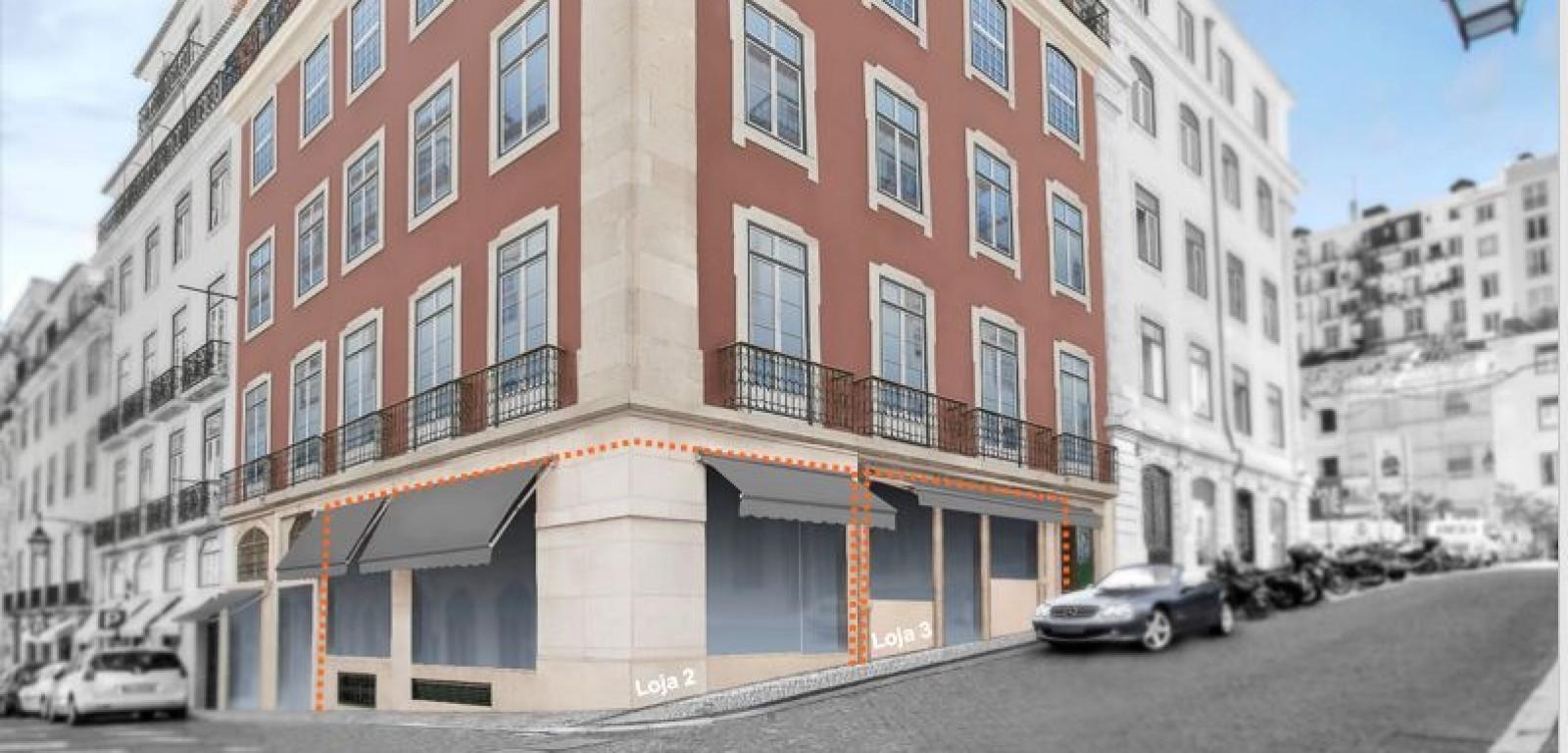 Loja na Baixa de 49 a 172 m²
